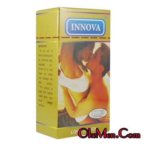 Bao cao su Innova Vàng có gai gân và chống xuất tinh sớm