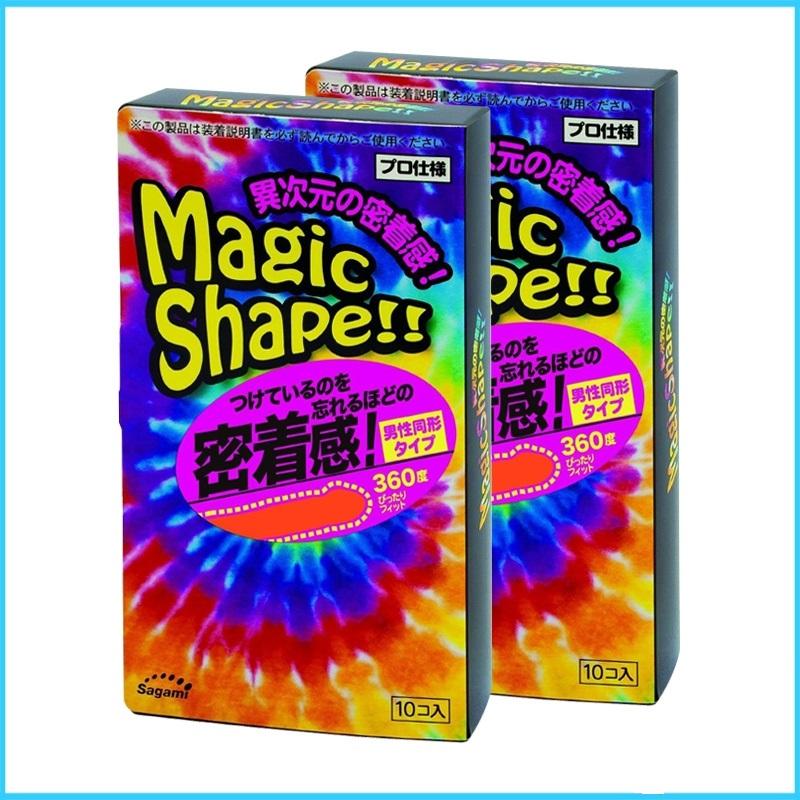 Bao cao su Sagami Magic Shape Nhât Bản cỡ 49mm