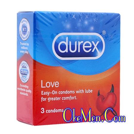 Bao cao su Durex Love siêu mỏng