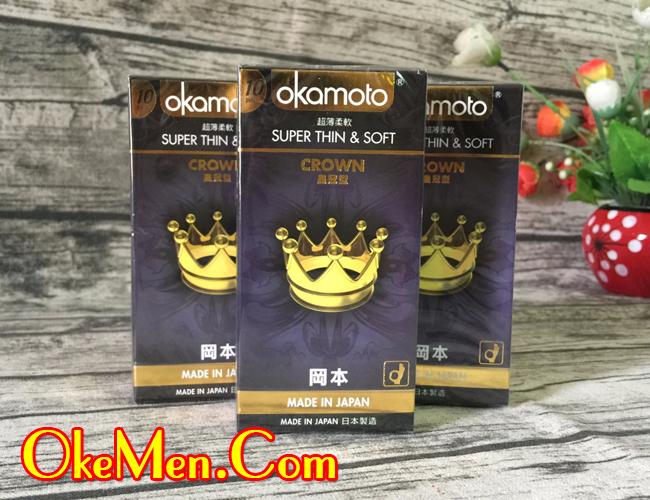 Hình ảnh bao cao su siêu mỏng Okamoto Crown