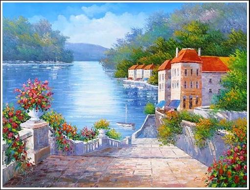 Tranh phong cảnh biển