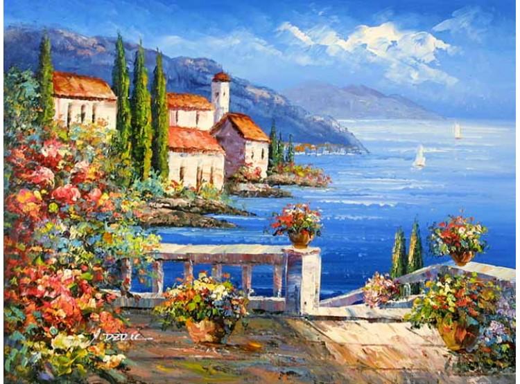 Tranh phong cảnh biển 4