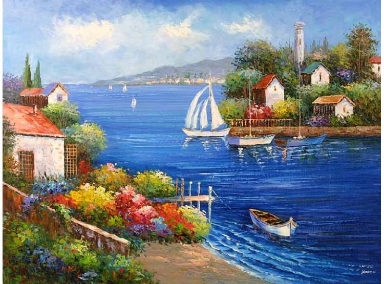 Tranh phong cảnh biển 7