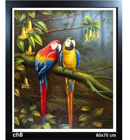 tranh đôi chim 3