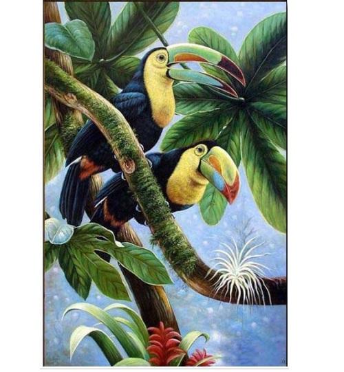 tranh đôi chim 7