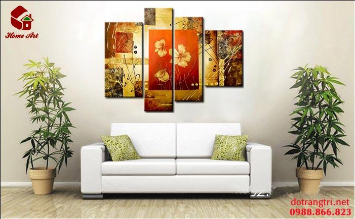 tranh bộ hiện đại home art 2
