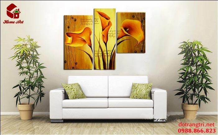 tranh bộ hiện đại home art 7