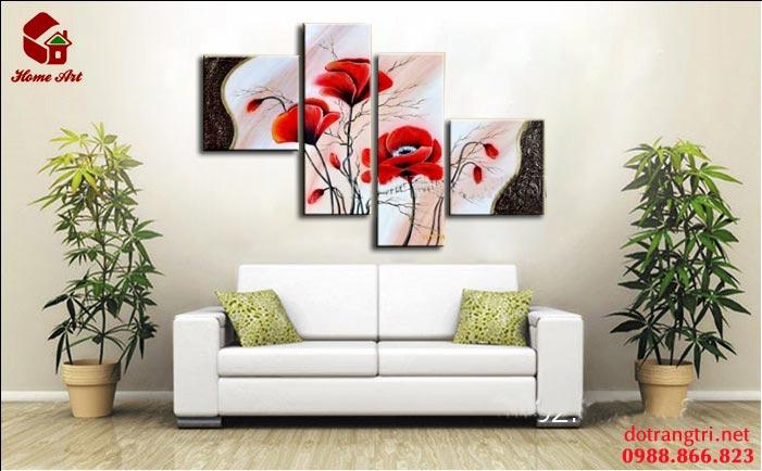 tranh bộ hiện đại home art 10