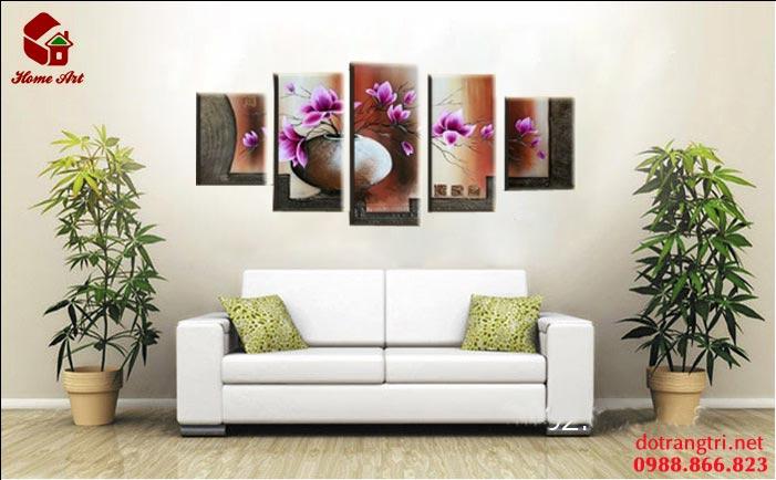 tranh bộ hiện đại home art