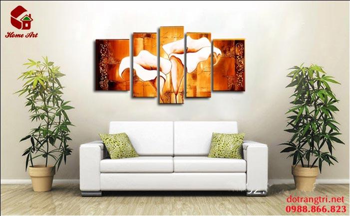 tranh bộ hiện đại home art 1