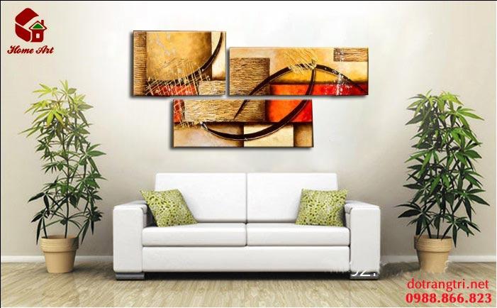 tranh bộ hiện đại home art 6