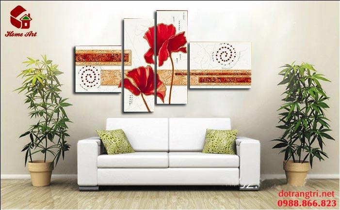tranh bộ hiện đại home art 5