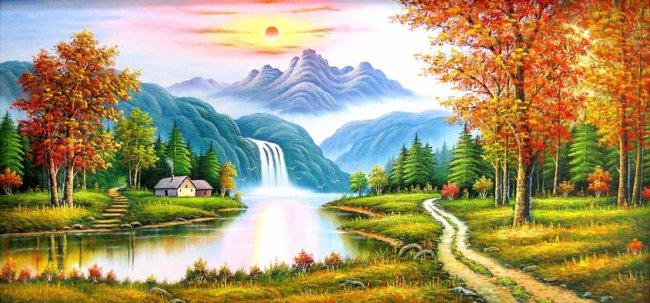 Tranh phong cảnh đẹp 1