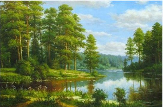 tranh phong cảnh nước ngoài