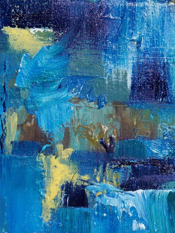 Tranh sơn dầu trừu tượng 1