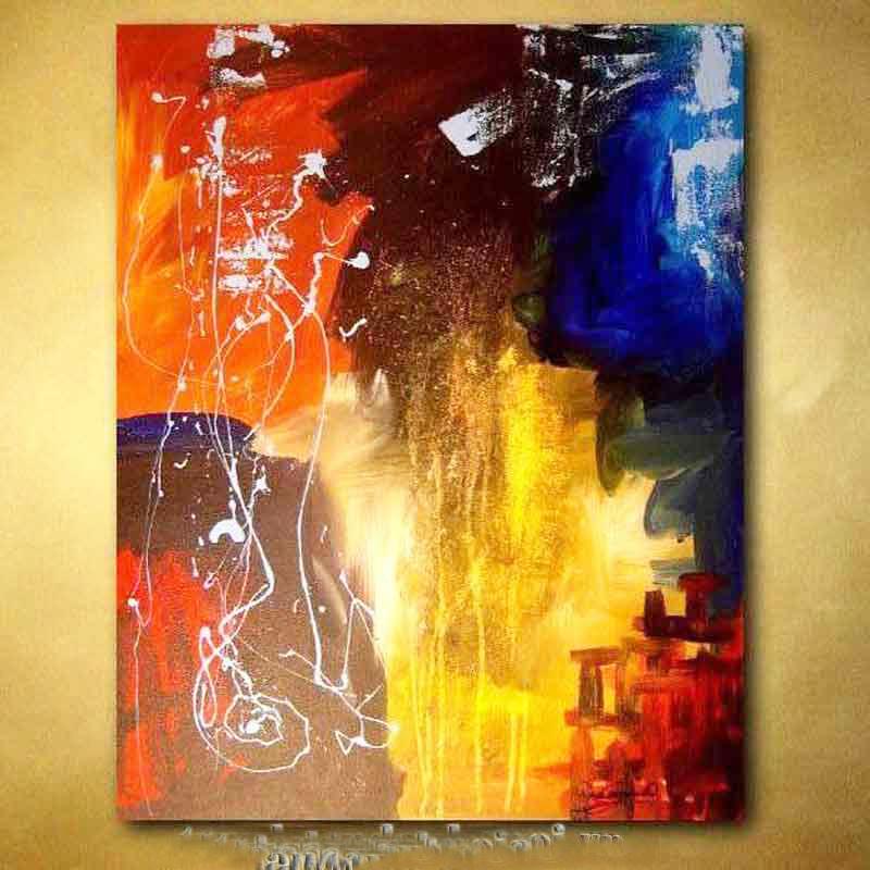 tranh sơn dầu trừu tượng 2