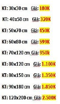 Bảng báo giá tranh sơn dầu TASODA