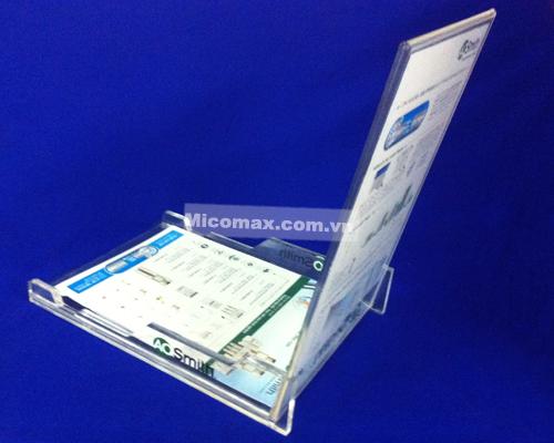 Kệ menu mica báo giá KM-2312