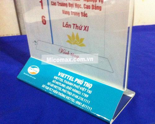 Micomax chuyên gia công menu mica tại Hà Nội