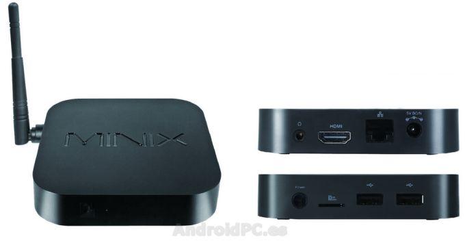Minix Neo X6 với thiết kế đặc trưng