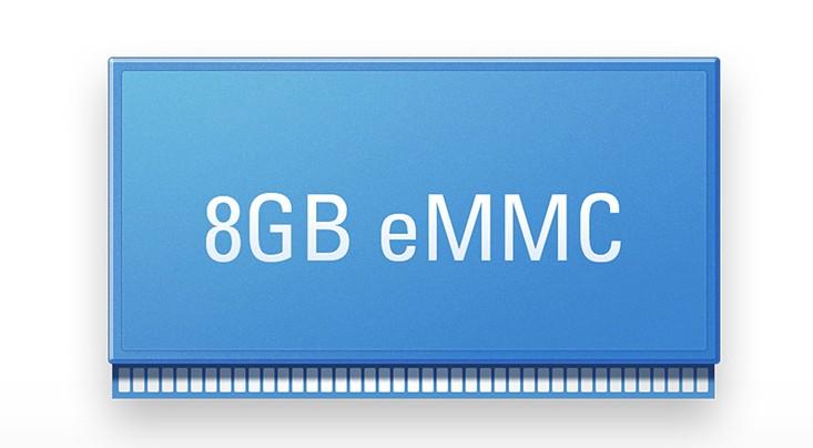 MinixNeoX6 có 8GB dung lượng bộ nhớ