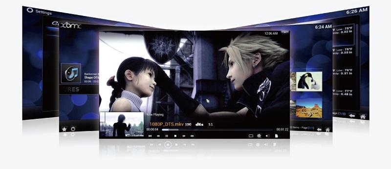 Sản phẩm Minix Neo X6 được tích hợp XBMC cho phép phát lại video với độ nét và chất lượng cao.