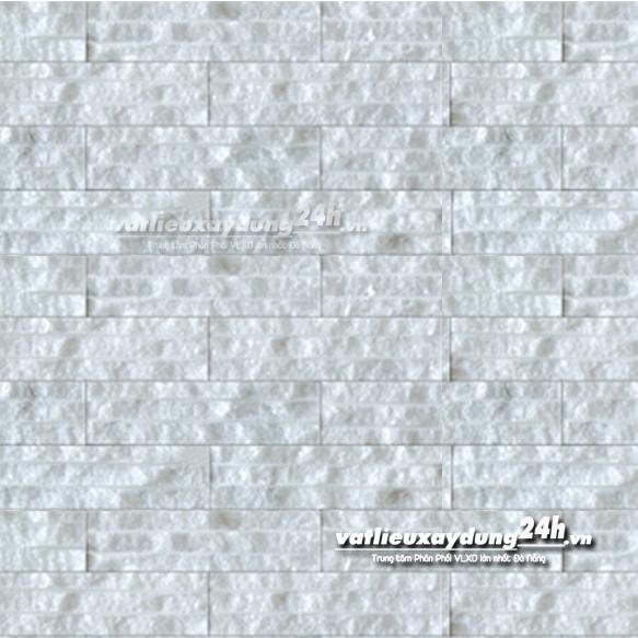 Đá chẻ trắng muối 5x20 cm