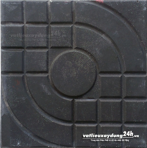 Gạch block Daramic màu ghi 25x25