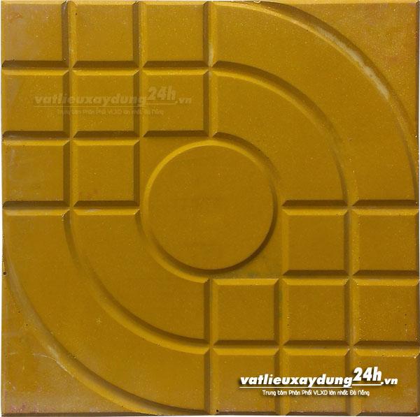 Gạch block Daramic màu vàng 25x25