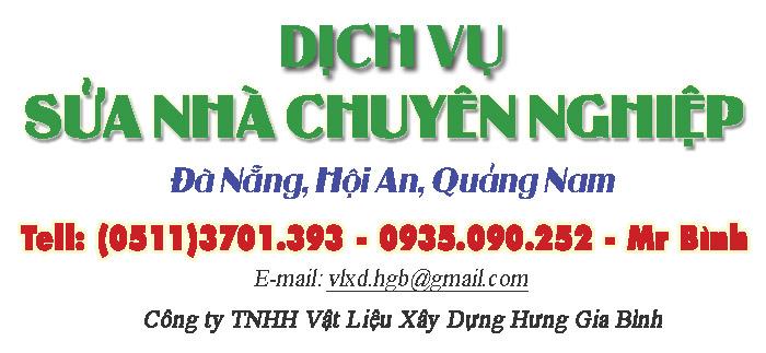Dịch vụ sửa nhà chuyên nghiệp tại Đà Nẵng