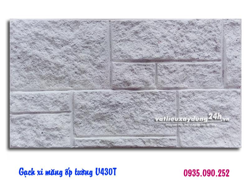 Gạch block xi măng ốp tường V403T