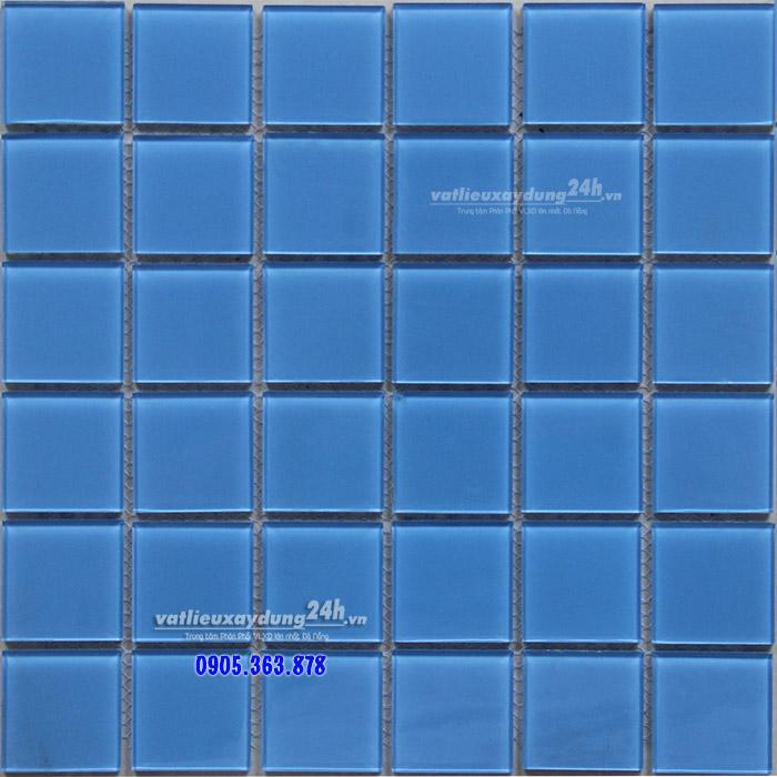 Gạch mosaic thủy tinh 48x48 MD-001
