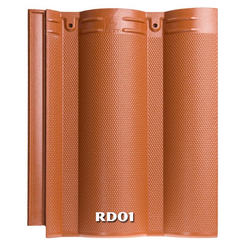 Ngói màu RUBY RD01 - Màu đỏ cam
