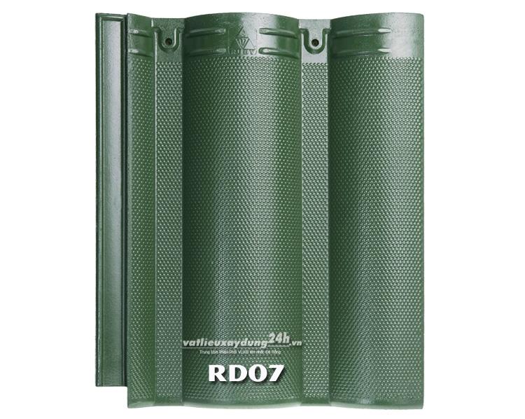 Ngói màu RUBY RD07 - Màu xanh rêu