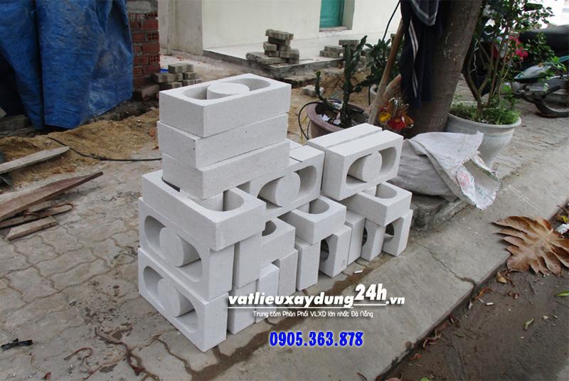 Gạch M104 xây tường trang trí