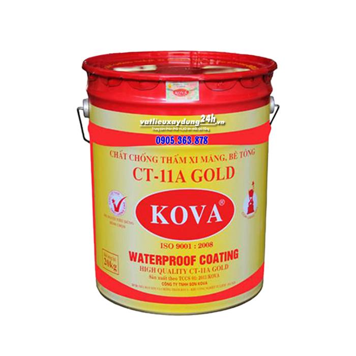 Chất chống thấm KOVA CT-11A Gold lon 4 kg
