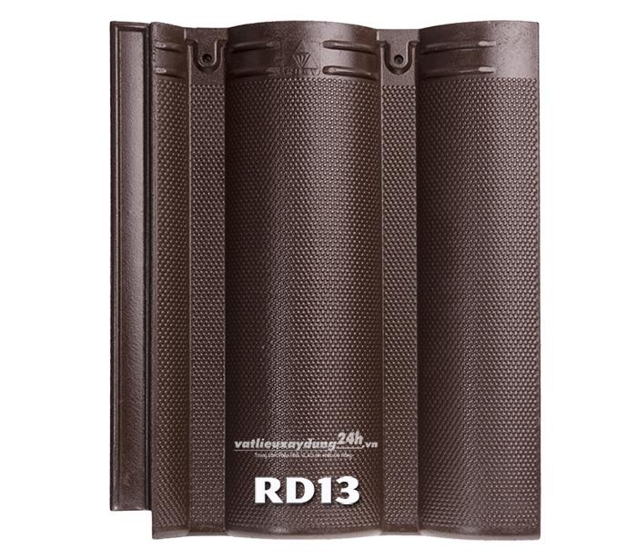 Ngói màu Ruby RD13 – Màu nâu socola