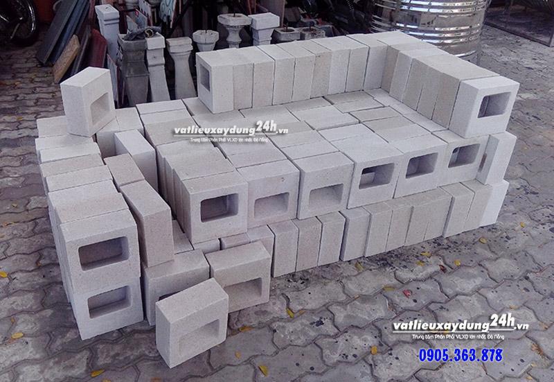 Gạch block M111 xây tường trang trí