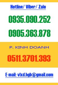 Hotline Cty VLXD Đà Nẵng
