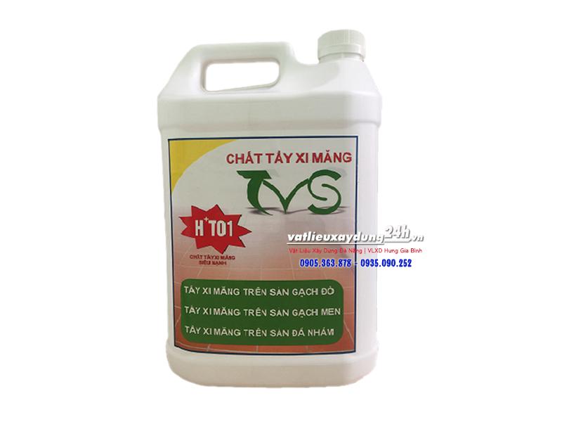 Hóa chất tẩy rửa xi măng H+T01 can 1,8 lít