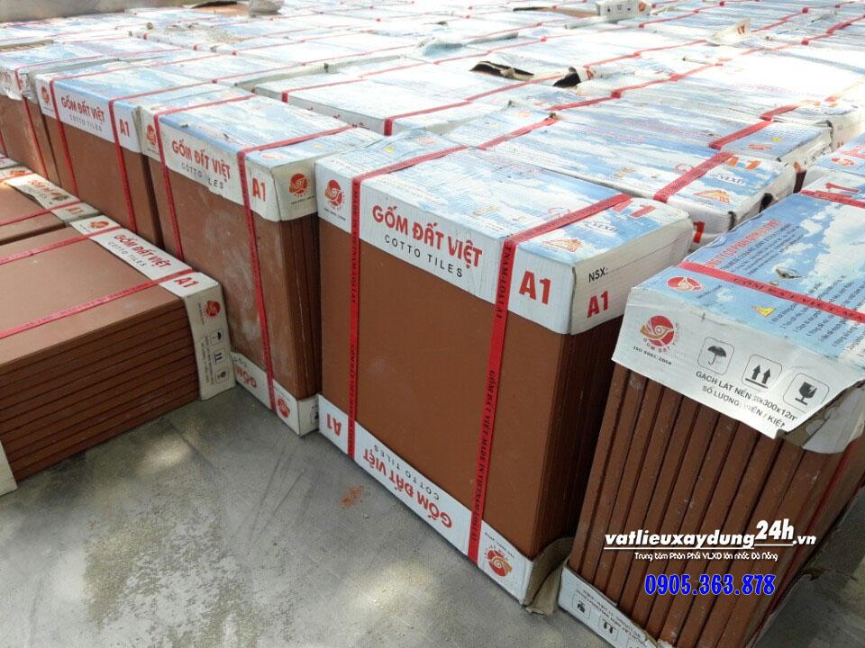 Gạch gốm đỏ Cotto 30x30 Đất Việt