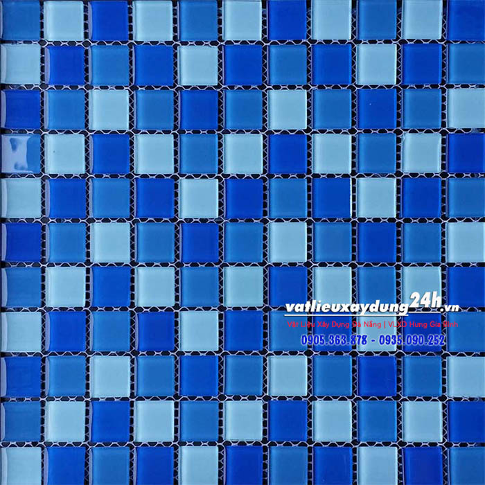 Gạch mosaic thủy tinh MT-118