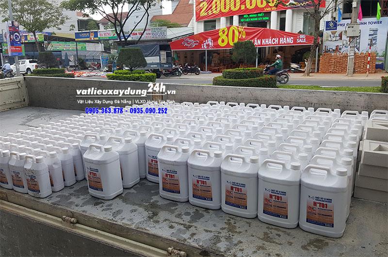 Hóa chất tây rửa xi măng H+T01