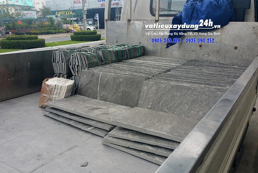 Đá chẻ xanh Đà Nẵng 30x60 cm