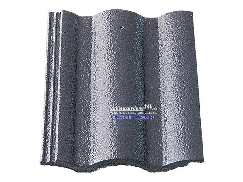 Ngói màu Đồng Tâm sóng lớn NLL S207 màu xám xanh nhạt