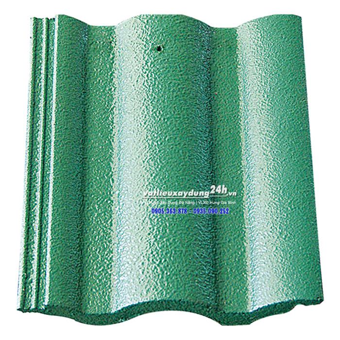 Ngói lợp Đồng Tâm NLL S706 sóng lớn màu xanh lá