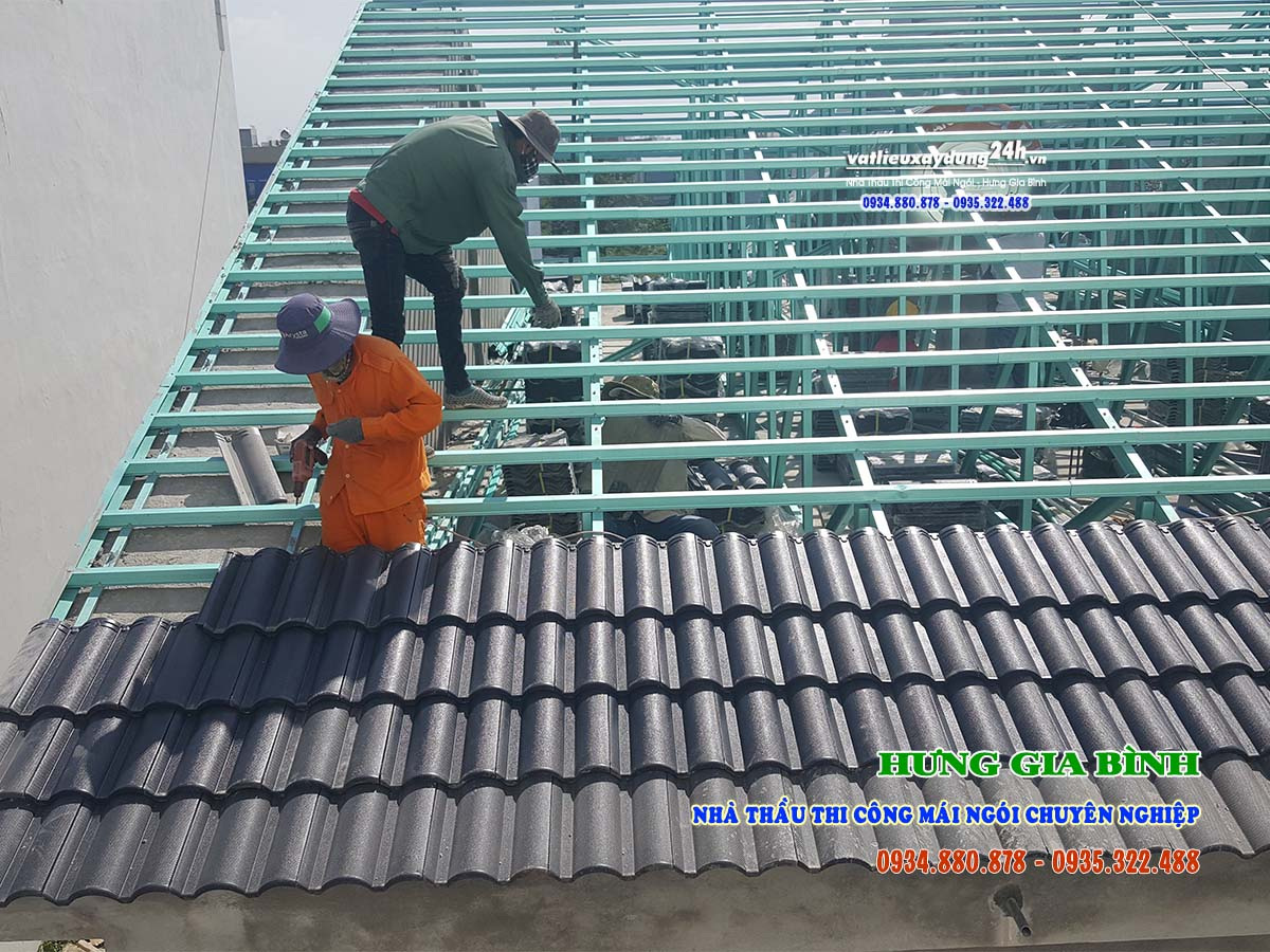 Nhà thầu Thi công mái ngói chuyên nghiệp tại Đà Nẵng