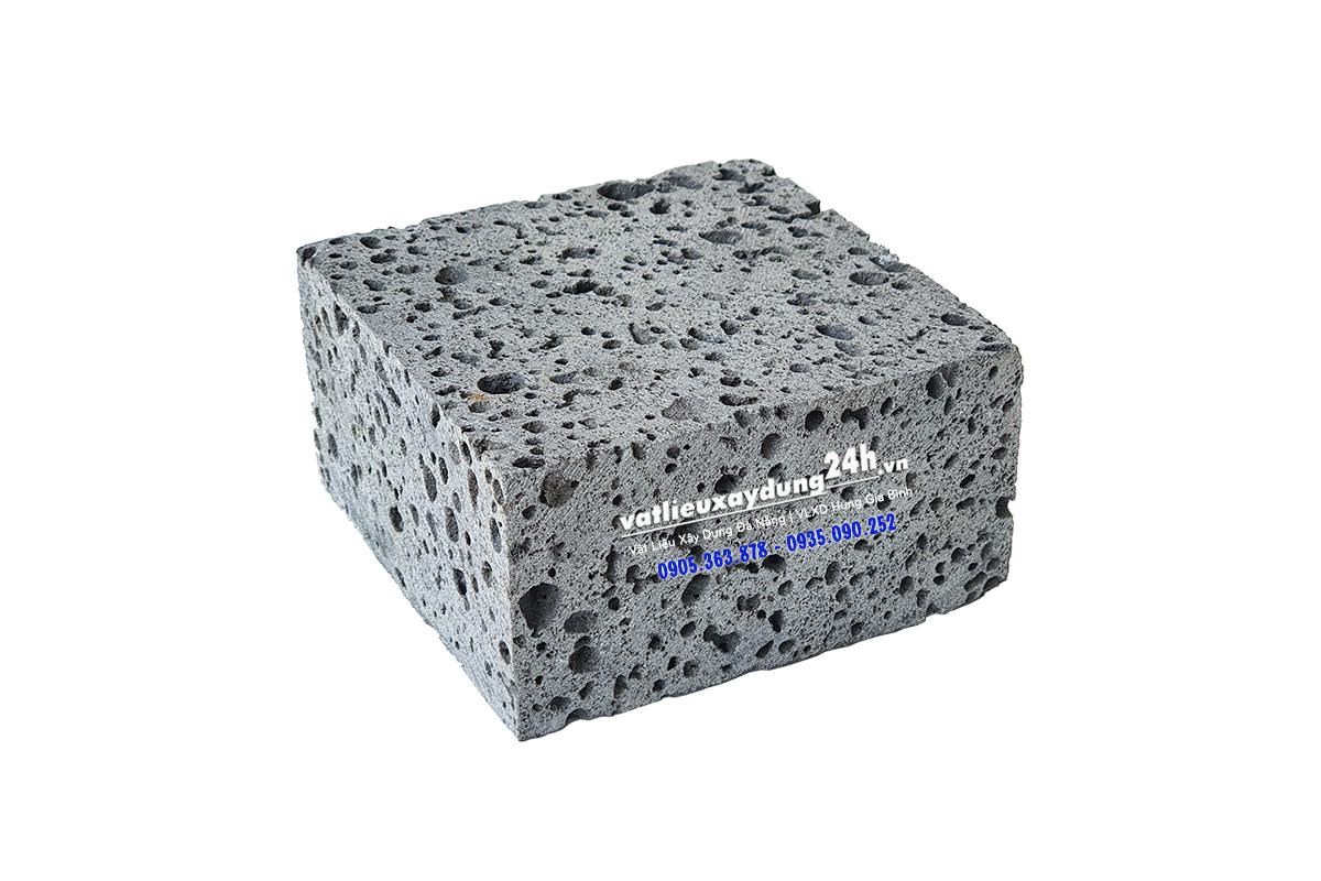 Đá ong cubic xám 10x10x5 cm