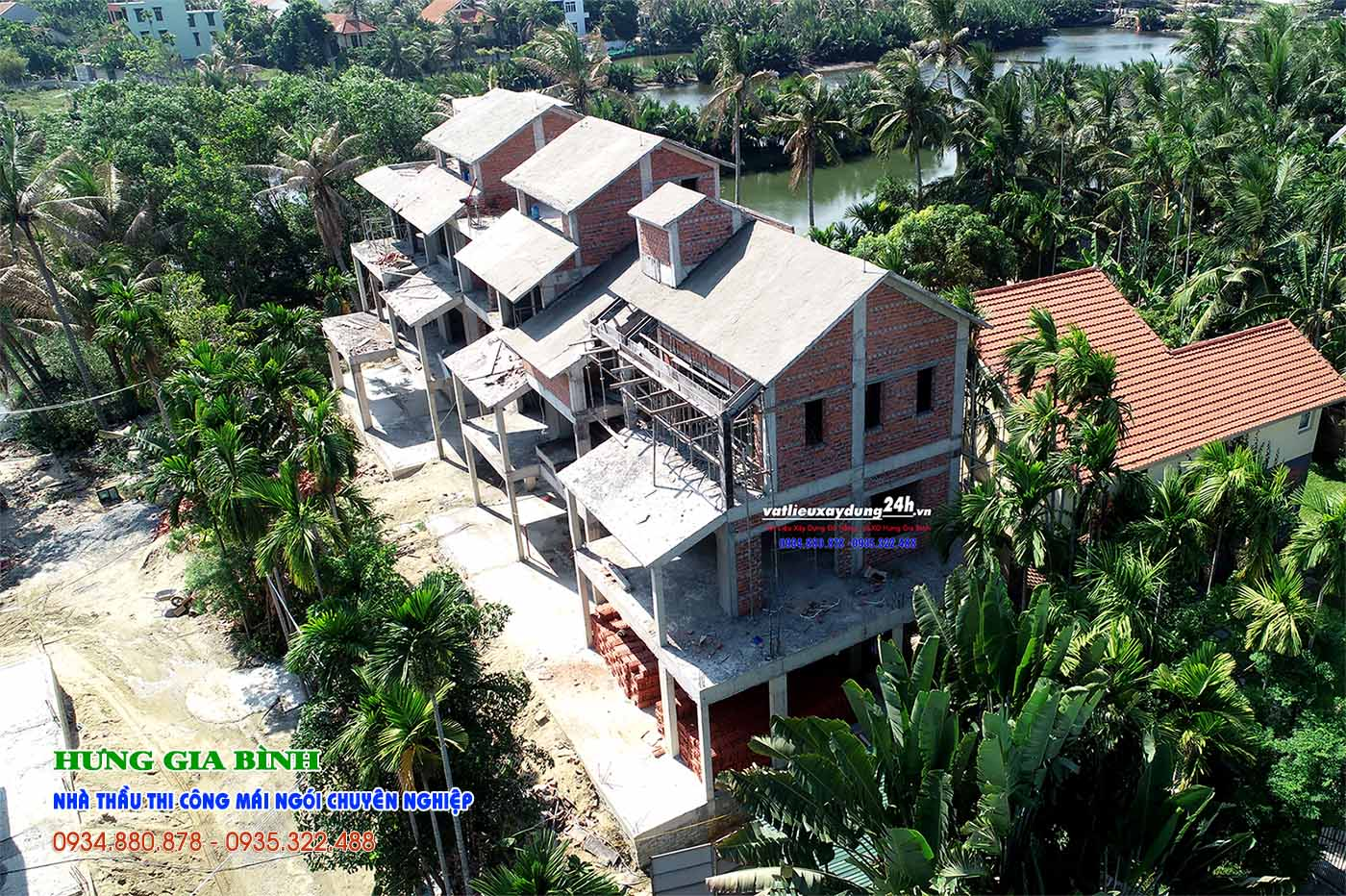 Nhà thầu thi công mái ngói chuyên nghiệp Đà Nẵng