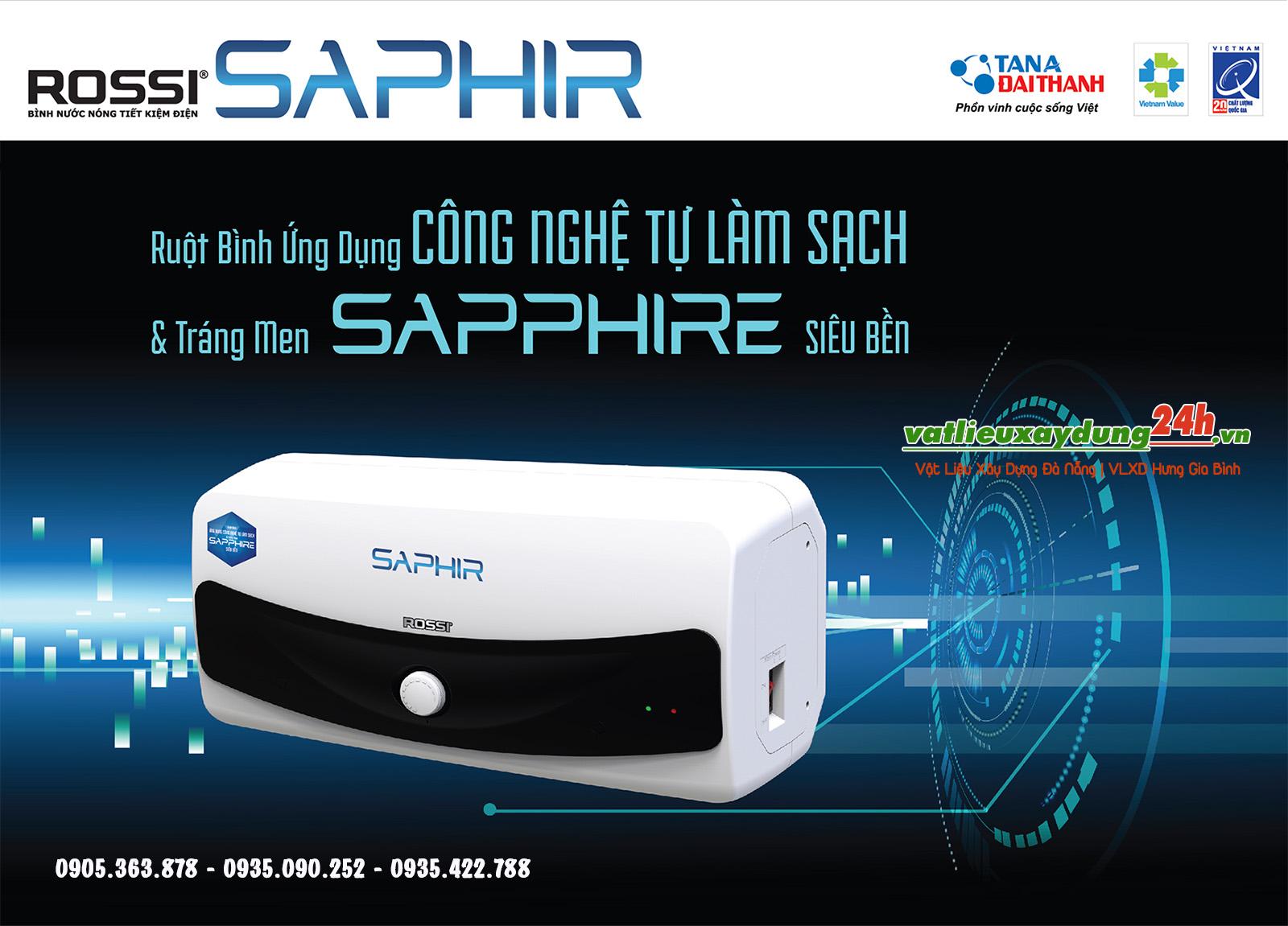 Bình nước nóng Rossi Saphir